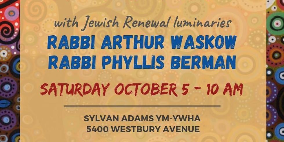 Shabbat Shuva with Jewish Renewal Luminaries