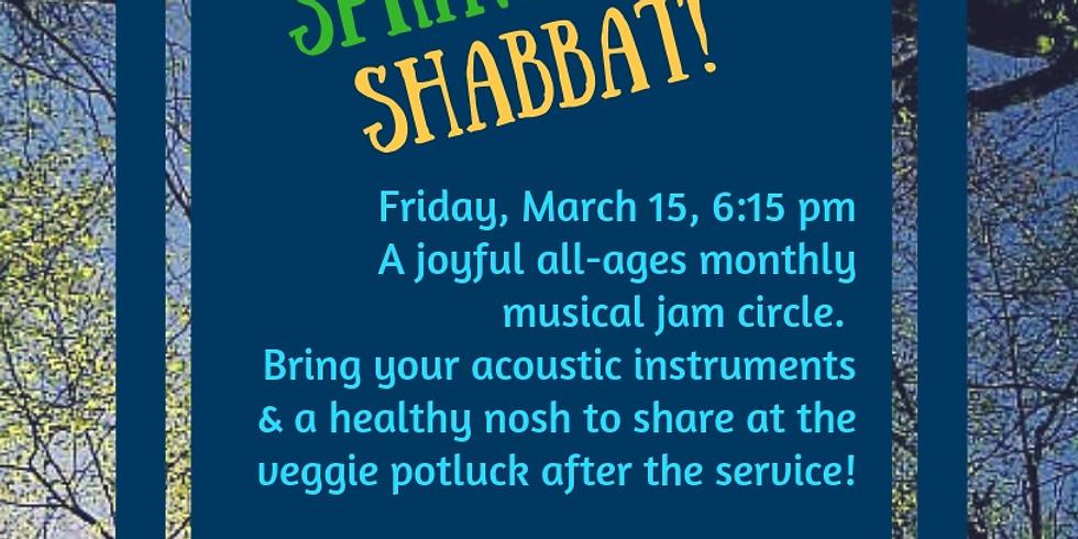 Spring into Shabbat!