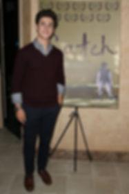 David Henrie premiere for Catch the short film