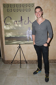 David Henrie premiere of Catch the short film