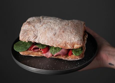 Sandwiches on fresh-baked ciabbata from Saggios