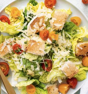 Garden fresh salads at Saggio's
