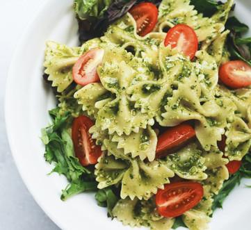 Saggios fresh, home-made bowtie pasta