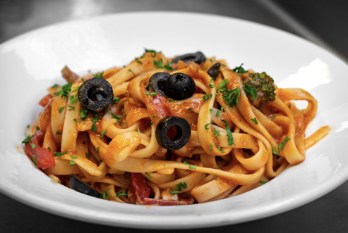Homemade fettuccine from Saggios Scratch Italian Kitchen