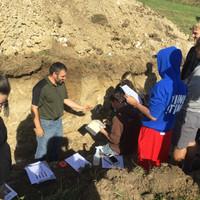 Soil pit judging practice.