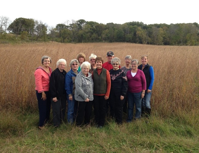 Annual Women Landowners meeting where they saw different conservation practices.