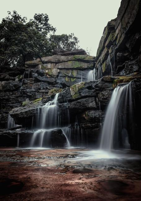 Popokvil Waterfall, Bokor Mountain, Cambodia