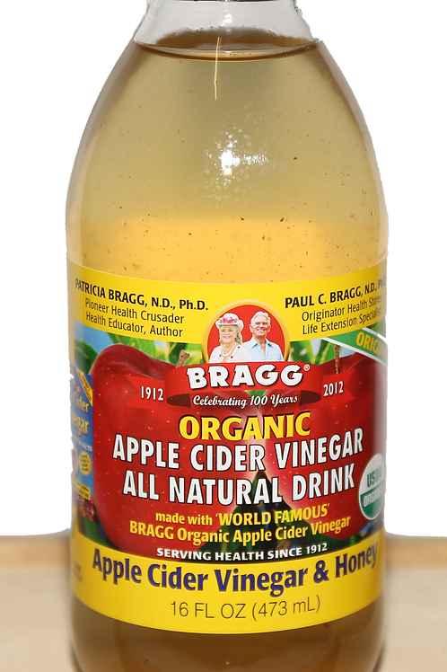 Apple Cider Vinegar Drink w/ honey