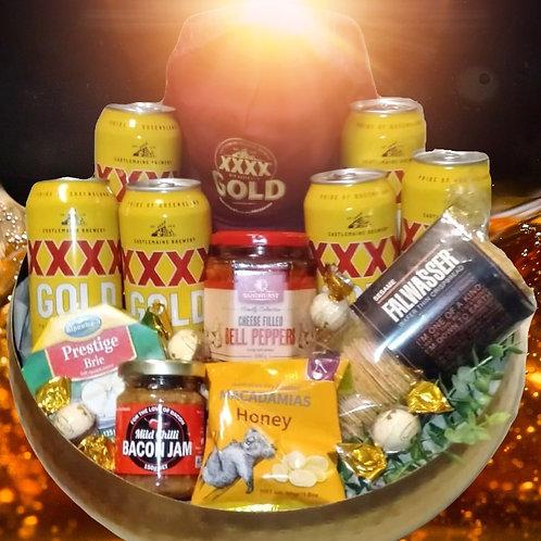 #36 XXXX Gold /Cap pack