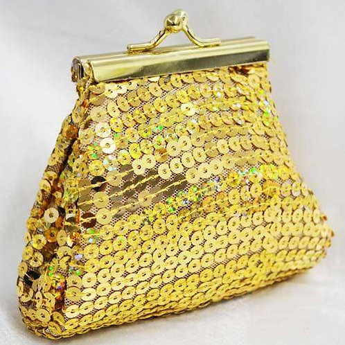 Pure Gold Mesh Purse & Lipstick Holder PRICES VARY
