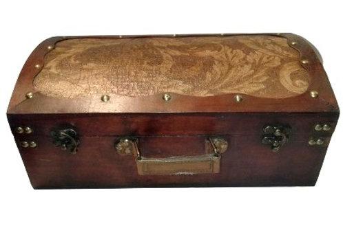 Antique Twin Wine Box