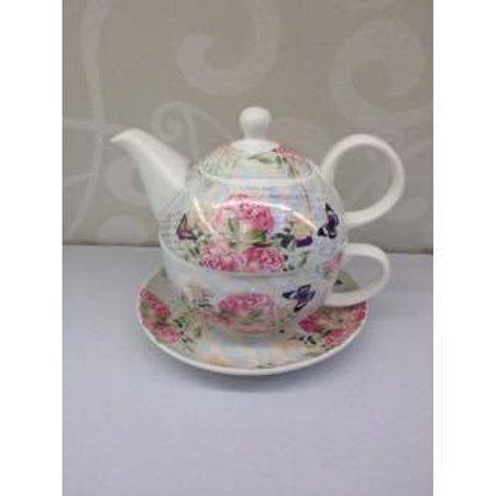 Tea for one - Rose with Butterfly
