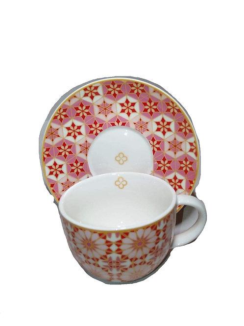 Mosaique cup/ saucer