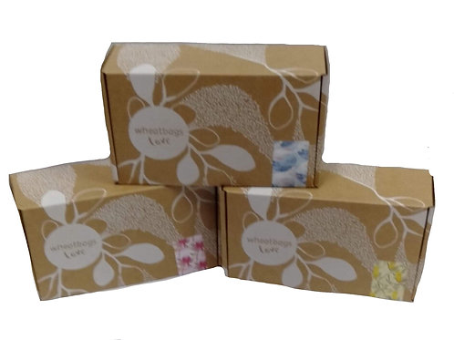 Scented wheatbags (sold seperately)