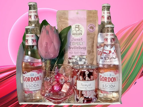 #34 Pink Gin & Soda with Rocky Road Pack