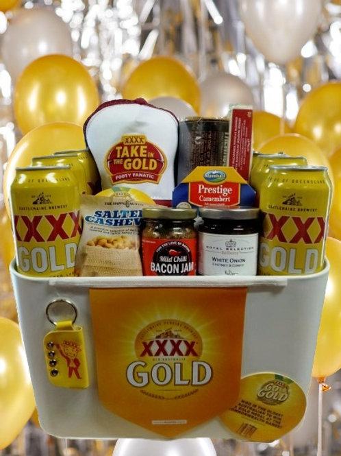 #28 XXXX Gold pack