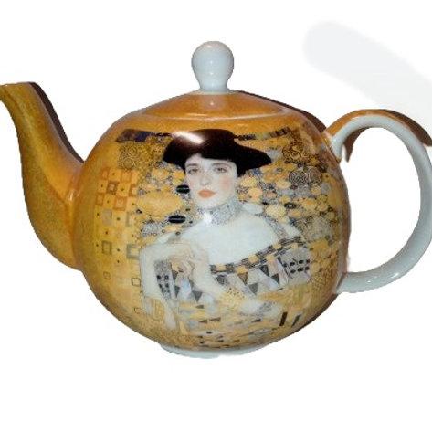 Gustan Klimt Fine China Teapot