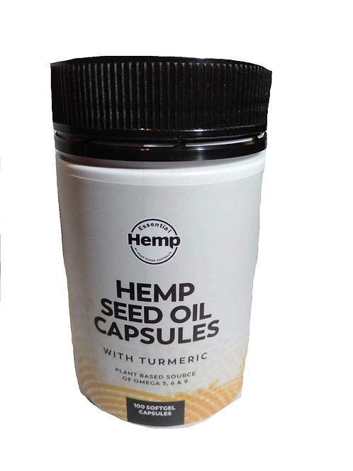 Hemp capsules