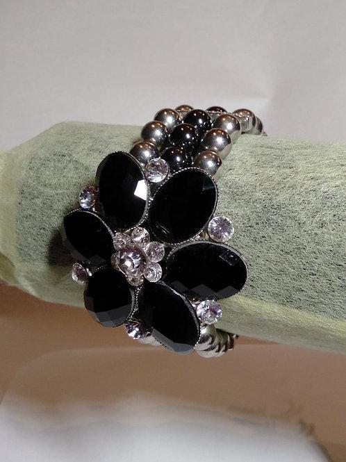 Magnetic Floral Bracelet