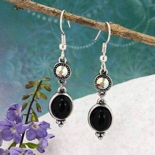 black onyx, clear ab
