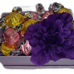 Townsville gift baskets mothers day purple box of chocolates negle Gallery