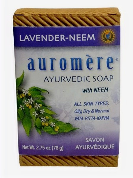 Auromere With Neem - Lavender Neem Soap