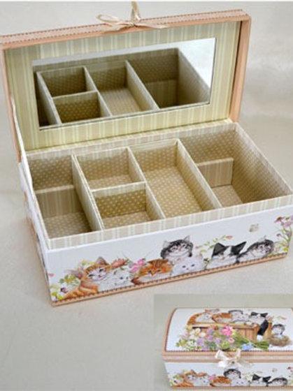 Cat Jewellery Box