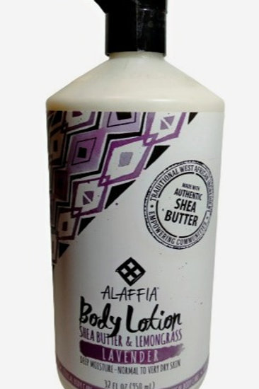 Alaffia Everyday Body Lotion Lavender