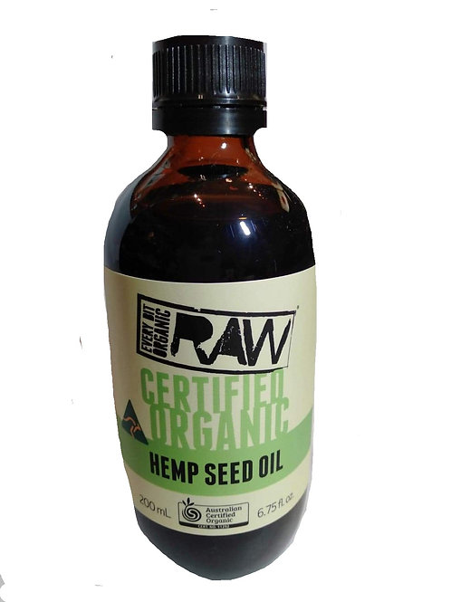 200ml Hemp seed oil