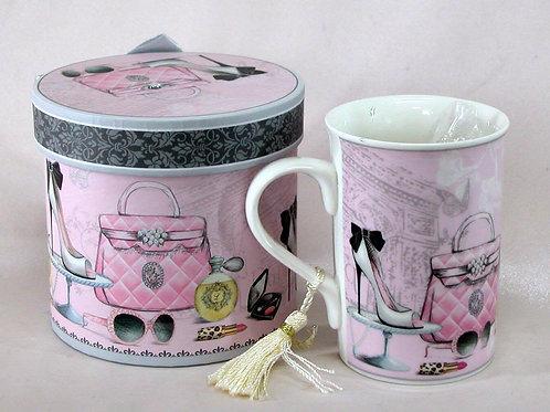 Pink Fashion Mug