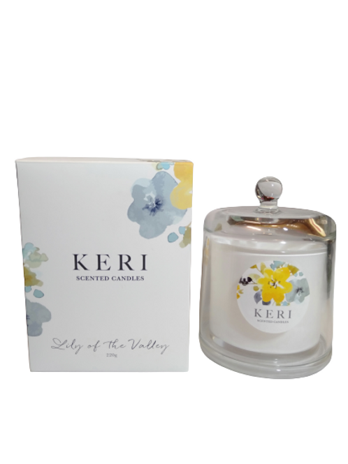 Kiri Candle Cloche Lilly Of The Valley