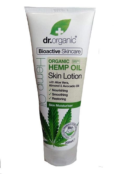 Hemp skin lotion