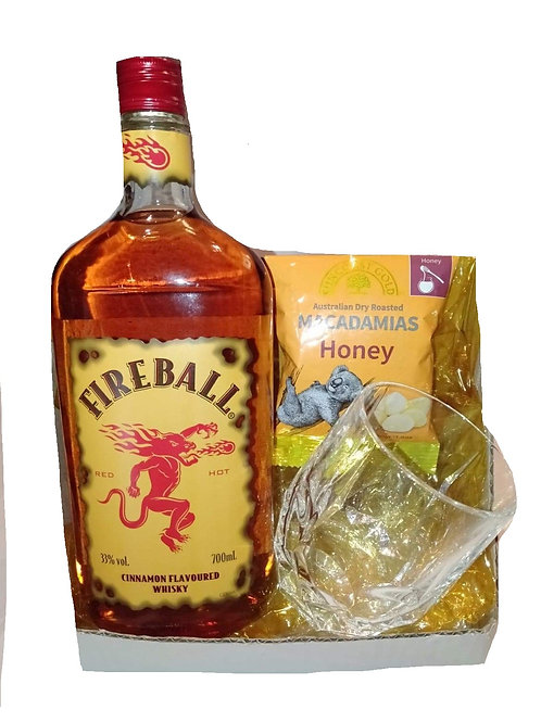 #58 Fireball cinnamon flavour whisky