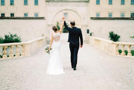 bride and groom by Melanie Nedelko Fotografie