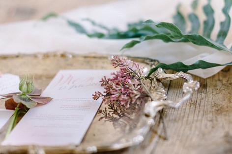 menu card by Dorelis Hofer Photography