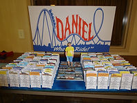 Roller Coasters Place Cards