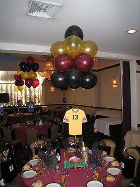 Centerpiece with Balloons