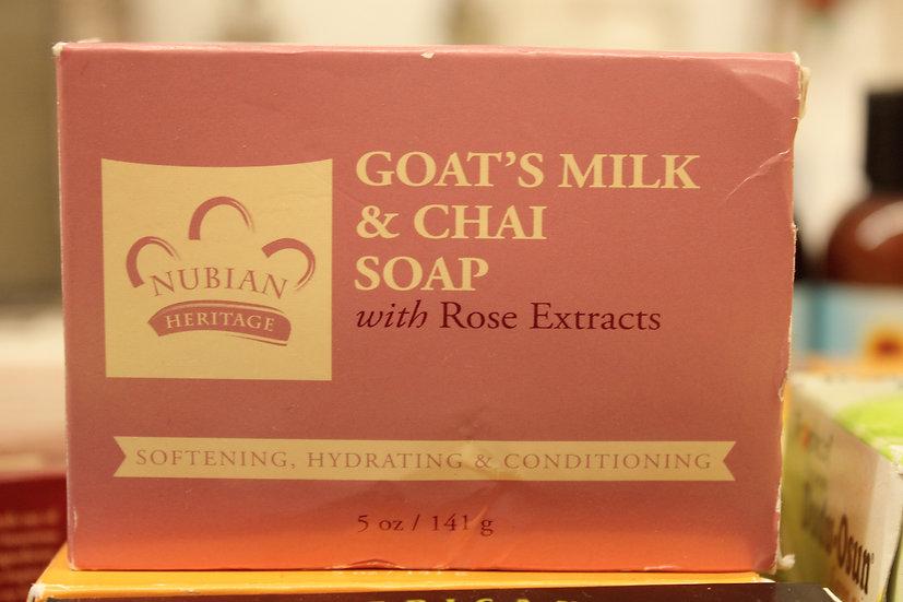 NH: Goat's Milk & Chai Soap