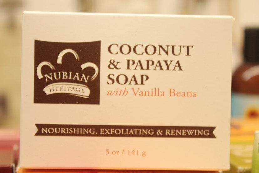 NH: Coconut & Papaya Soap