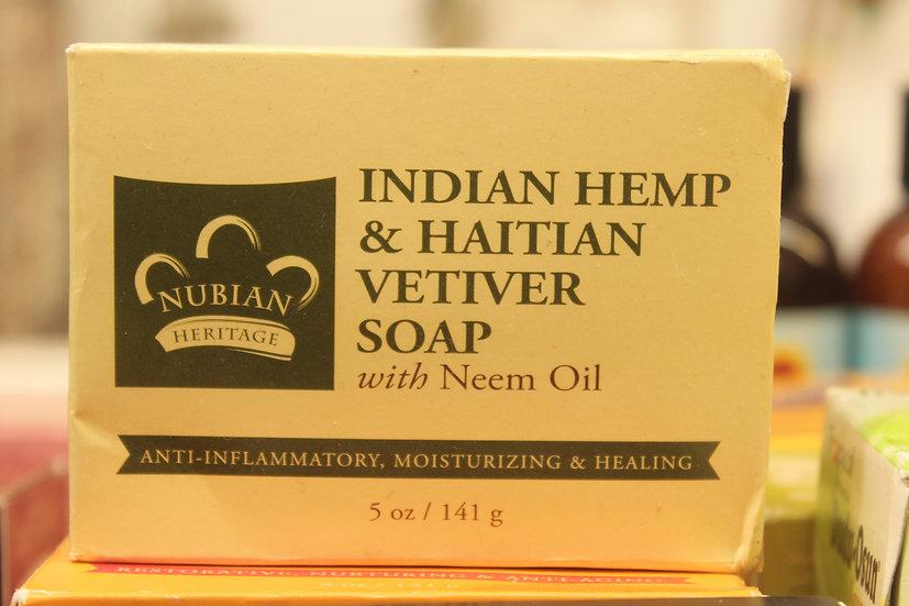 NH: Indian Hemp & Haitian Vetiver Soap