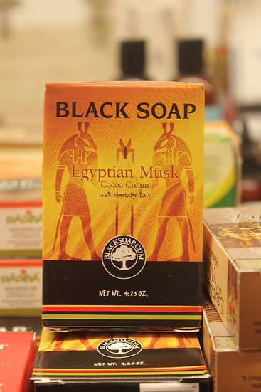 Black Soap: Egyptian Musk Cocoa Cream