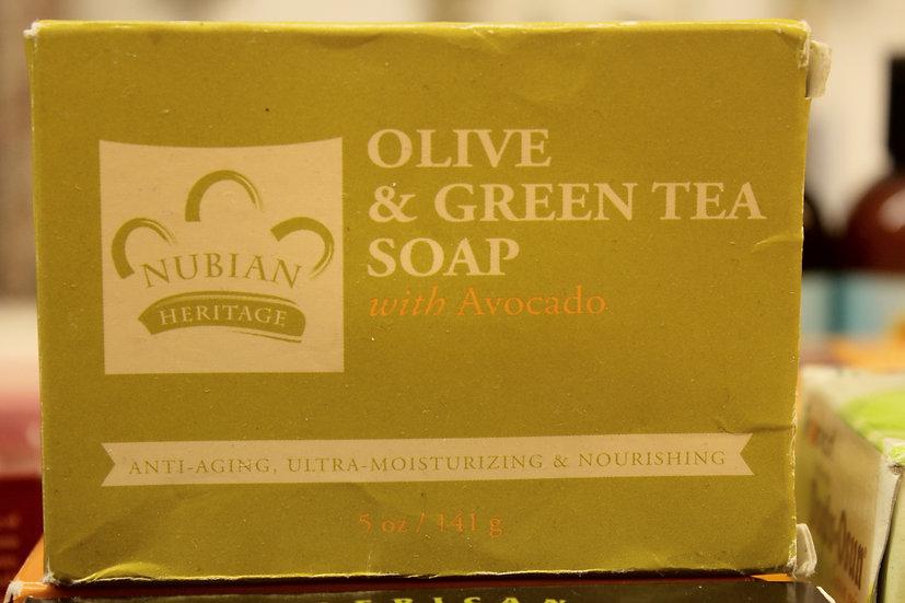 NH: Olive & Green Tea Soap