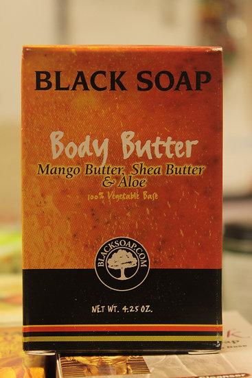 Black Soap: Body Butter