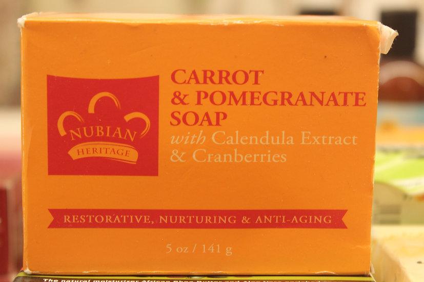 NH: Carrot & Pomegranate Soap