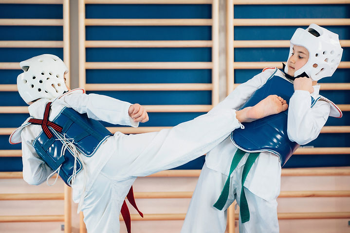 Tae Kwan Do Children Training