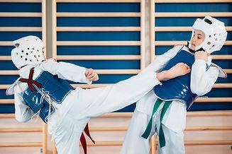 Formazione Tae Kwan Do bambini