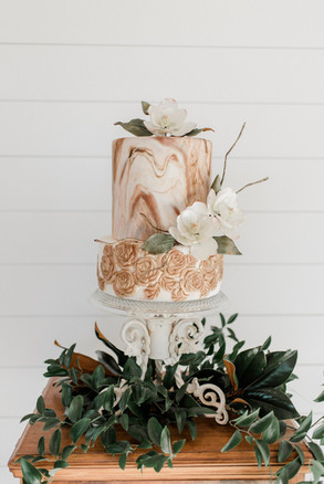 The marbling on this cake!