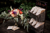 Seed packet favors with custom packaging