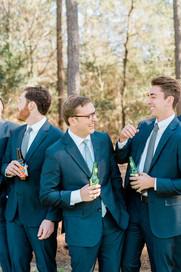 A Groom + His Men