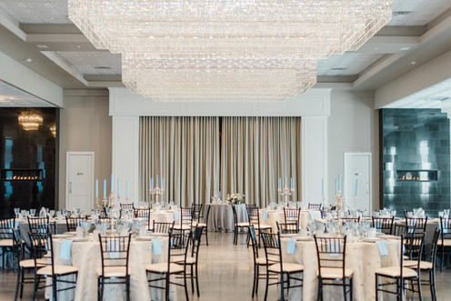 Reception space with elegant vibes